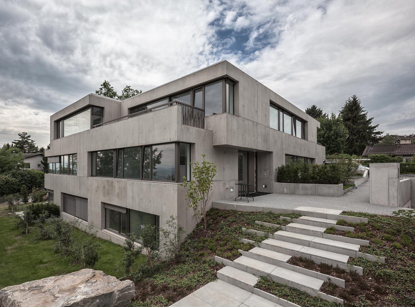 Neubau mehrfamilienhaus t gernstrasse forch spoerri for Mehrfamilienhaus neubau
